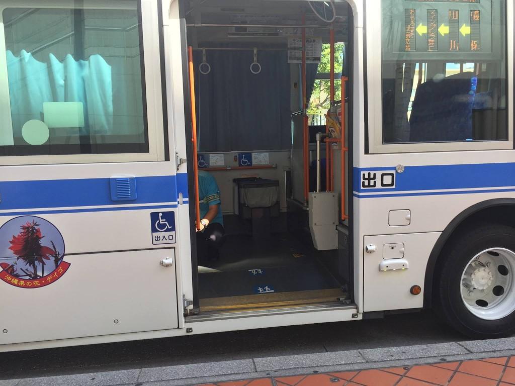 ノンステップバス運行状況が分からない3