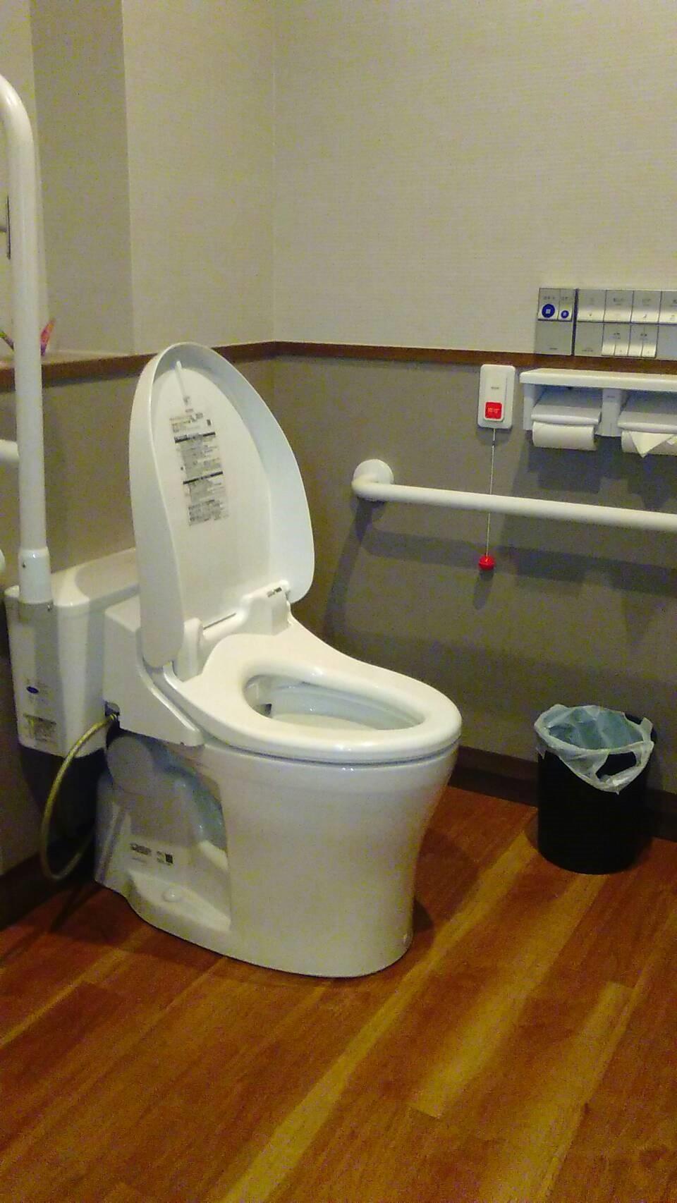A&W バリアフリーなトイレ